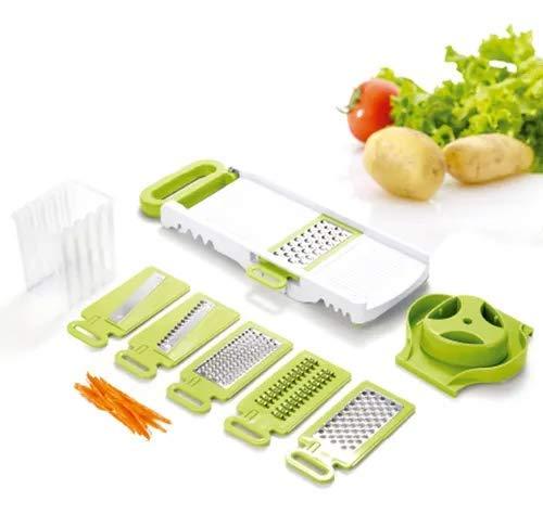 Kit Ralador de Legumes e Verduras 6 em 1 - O melhor Fatiador de Alimentos - Bella Net