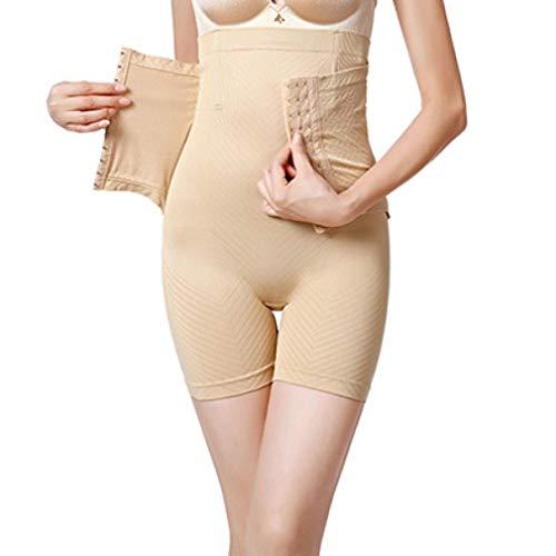 GOWINEU Pantalones Cortos para Mujer Shaper Fajas Acolchadas de Cintura Alta Bragas para tonificar Las Nalgas
