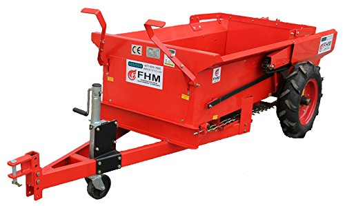 Best Price! Farmer-Helper 29 cubic feet Manure Spreader