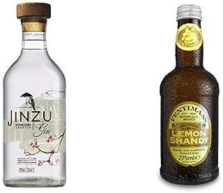 Jinzu Gin 1 x 0.7 l mit Fentimans Lemon Shandy, 12er Pack 12 x 275 ml