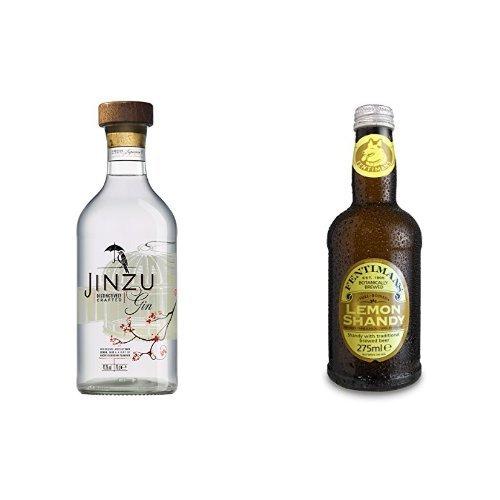 Jinzu Gin (1 x 0.7 l) mit Fentimans Lemon Shandy, 12er Pack (12 x 275 ml)