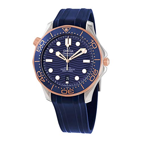 Omega Seamaster Diver Reloj automático con esfera azul 210.22.42.20.03.002