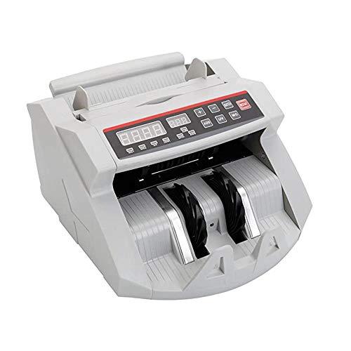 Geldzählmaschine, Multinationale Währung Banknotenzähler Wertzähler Schnelles Geldzählen Geldscheinzählmaschine, Hohe Empfindlichkeit Post Automatisch Löschen Gelddetektorfunktion
