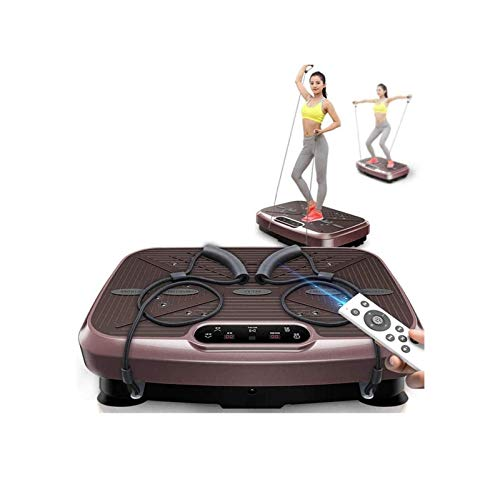 SCYMYBH Placa de vibración de alta potencia para entrenador de vibración, plataforma de vibración, cuerpo completo, agitación deportiva, entrenamiento de entrenamiento en casa (color: A)