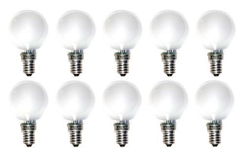 10 x Glühbirne Tropfen E14 40W MATT Glühlampe Glühbirnen Glühlampen Imat