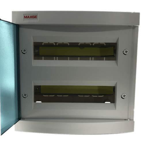 Caja distribucion electrica empotrable IP30 de 24 modulos Blanco, Cablepelado®