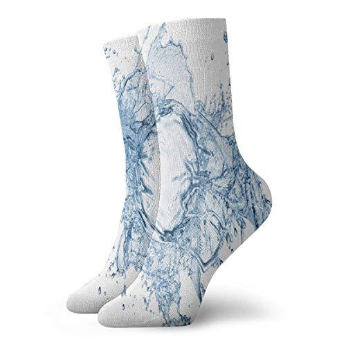 HNJZ-GS Crew Socken Water Drops Trendy Unisex Short Boot Stocking Zubehör Socken Ausverkauf für Damen