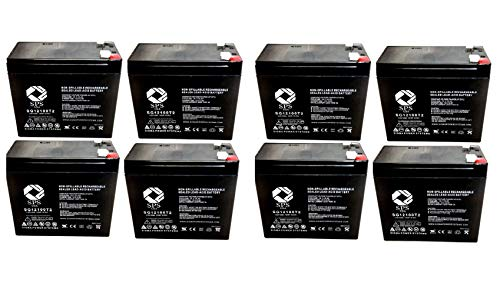 SPS Brand 12V 10Ah Replacement Battery for Currie eZip Trailz Electric...