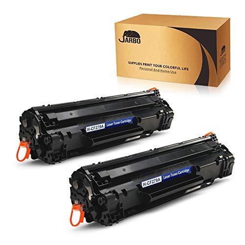 JARBO CF279A Cartuchos de tóner Compatible para HP 79A (CF279A) para HP LaserJet Pro M12 M12a M12w, HP LaserJet Pro MFP M26a M26nw, 2 de Negro