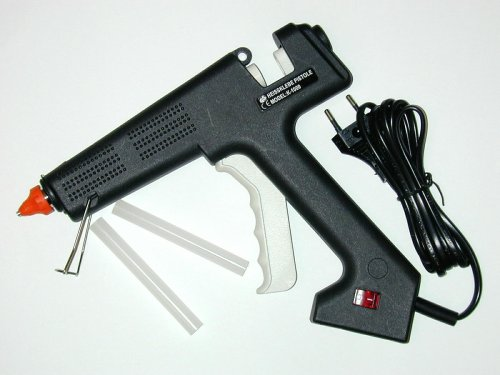 Ironside 143105 - Pistola professionale per colla a caldo, con 100 W...