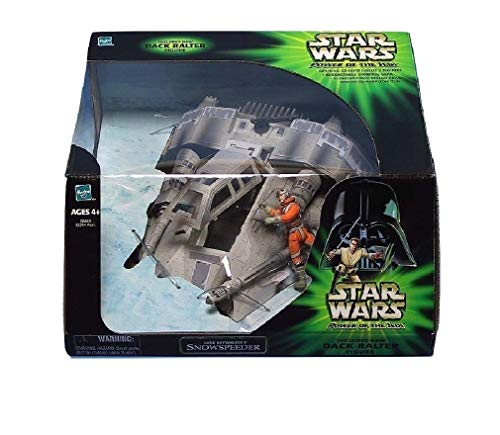 TOMY Star Wars Power of The Jedi Snow Speeder image
