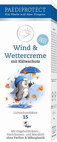 PAEDIPROTECT Wind & Wettercreme für Babys, Kinder und Erwachsene (1x30ml) mit Lichtschutzfaktor 15