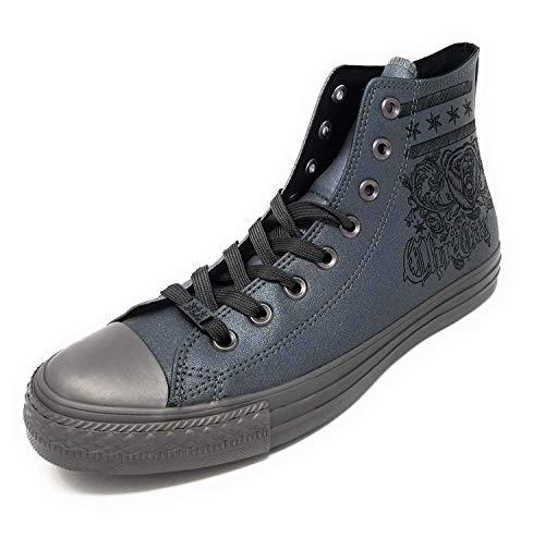 Converse Ctas Core Hi Unisex Sneakers, für Erwachsene, Grau - Canna Di Fucile Canna Di Fucile Nero - Größe: 41 EU