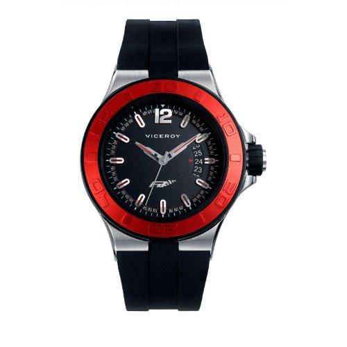 Viceroy Fernando Alonso 47773-75 - Reloj de Pulsera para Hombre, Color Negro