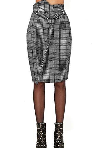 Hybrid & Company Women's Versatile Maxi Skirt/Convertible Dress S15118 Black L