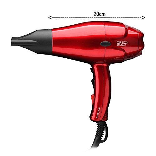 Sinelco Francia Origin dreox Compact secador de AC rojo Metallique 2000W