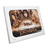 Herr der Ringe Poster signiert von Elijah Wood (Frodo
