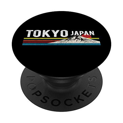Tokyo Japan Mountain - Mount Fuji PopSockets Supporto e Impugnatura per Smartphone e Tablet