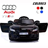 BC Babycoches-Coche electrico 12 V para niños, Licencia Oficial Audi TT RS, Mando Parental,...