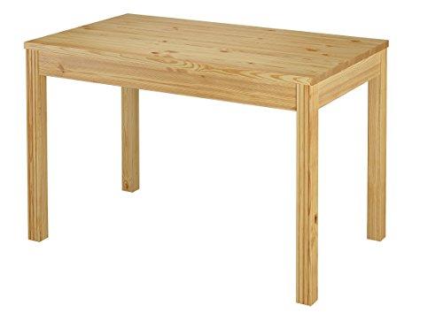Erst-Holz® Tisch 80x120 Esstisch Massivholz Beine Rille Senkrecht 90.70-51 C