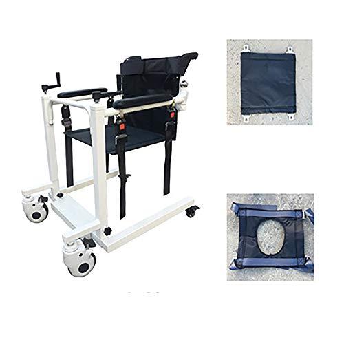 Elevador multifuncional para discapacitados, elevador para discapacitados Elevador multifuncional paralizados postrados en cama Productos para el cuidado de ancianos Asiento de baño para el hogar, c 🔥