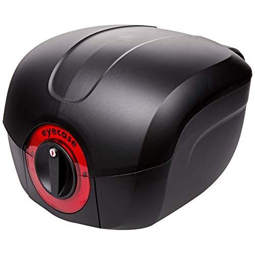 eyecase 06.32504 - Bauletto L32 per moto, 32 l, con supporto universale, colore: Nero