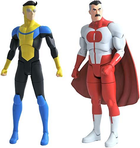 Invincible Series 1: Invincible and Omni-Man Action Figure Assortment