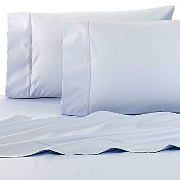 Wamsutta Dream Zone 750-Thread-Count PimaCott Queen Sheet Set  Light Blue Queen