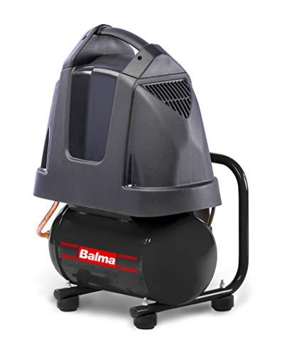Balma, compressore d'aria silenzioso, 1 cv, 6 litri, portatile, senza olio, MIZAR...