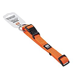 High Visibility Reflective Orange material With strength, durability and functionality perfect solution to increase both owner and pet's safety alike during the winter months and dark nights