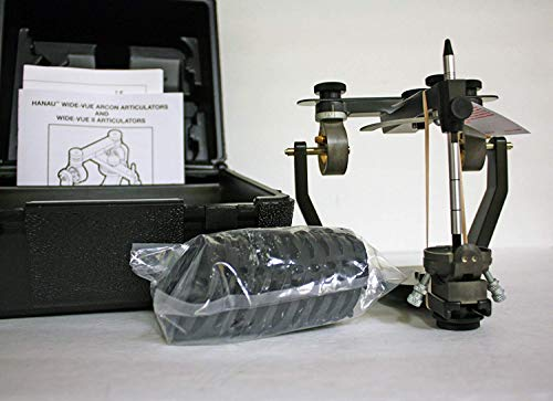 Hanau 010885-000 Wide-Vue Articulator With Case