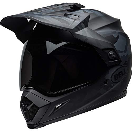 BELL Herren MX-9 Adventure MIPS Helme, schwarz, L