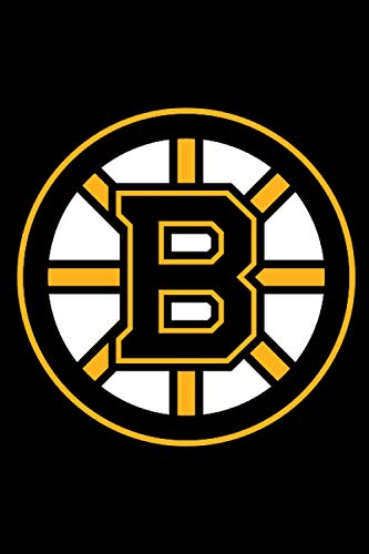 Boston Bruins Notebook: Minimalist Composition Book   100 pages   6