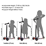 Zoom IMG-1 hikole monopattino per bambini 3