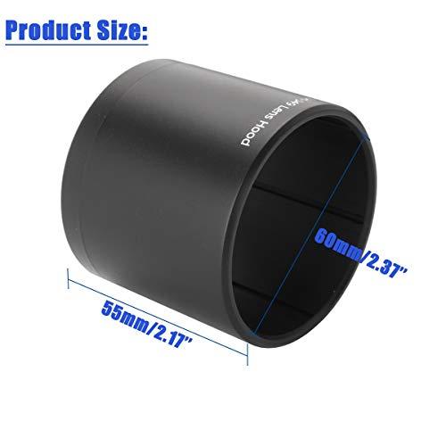 BELONG Camera Long Lens Hood for Olympus M.ZUIKO Digital ED 60mm 1:2.8 Macro LH-49 6cm x 6cm x 5.5cm Photo #3