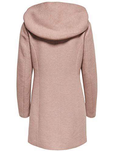 Only onlSEDONA Light Coat OTW Noos Abrigo, Marrón (Mocha Mousse Detail:Melange), 38 (Talla del Fabricante: Medium) para Mujer