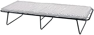 Stansport Conifer Steel Cot with Mattress (30- X75- X15-Inch)