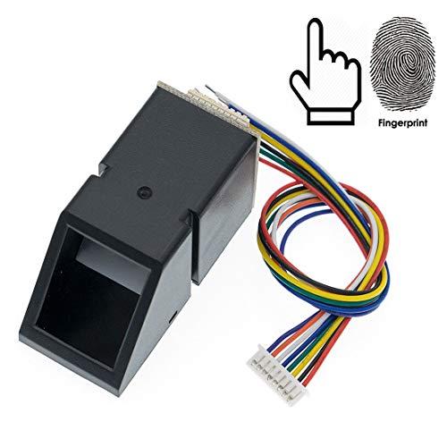 Asiawill AS608 Optischer Fingerabdruckleser Sensor Scanner Modul optischer Fingerabdruck Modul Türschloss Zugangskontrolle für Arduino