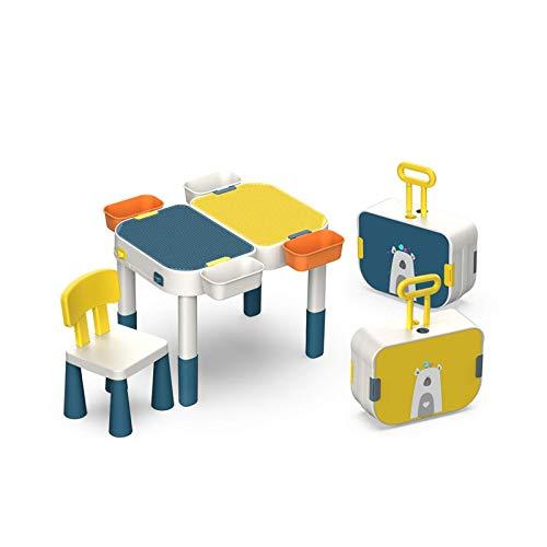 Kindertische mit Bausteinen für Kleinkinder Aktivitätstisch Lernen & Bildung Vorschulspielzeug Kindermöbel Spieltisch