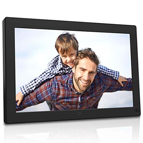 BSIMB 10.1 Inch Digital Photo Frame Digital Picture Frame 1280x800 Built-in 8GB Memory IPS Screen Electronic Photo Frame