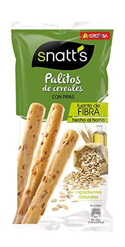 Grefusa - Snatt's | Palitos de Trigo con Pipas - 62 gr