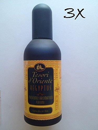 3x tesori d´Oriente Aegyptus Eau de Toilette parfum unisex 100 ml aus italien