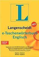 e-Taschenwörterbuch Englisch. Version 4.0. Langenscheidt. CD-ROM für Windows 95/98/NT4.0/2000/XP