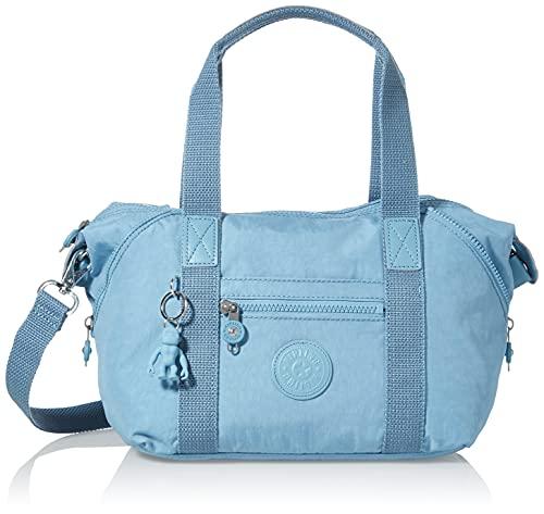 Kipling Art Mini, Bolsas con asa Superior para Mujer, Azul niebla, One Size