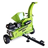 YARDBEAST 3514 ATV - 3.5 inch Wood Chipper with ATV Towing Package Powered by Kohler Command Pro 429 cc 14HP D2 Tool Steel Blade and Rotational Discharge