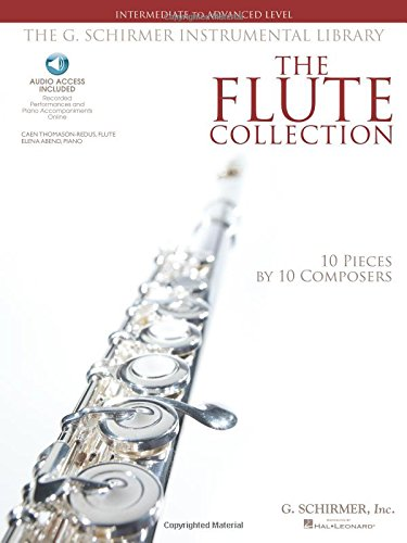 The Flute Collection - Intermediate to Advanced Level: Schirmer Instrumental Library for Flute & Piano (G. Schirmer Instrumental Library)
