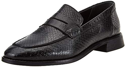 SCOTCH & SODA FOOTWEAR LOEL Loafer, Zapatillas Mujer, Negro, 38 EU