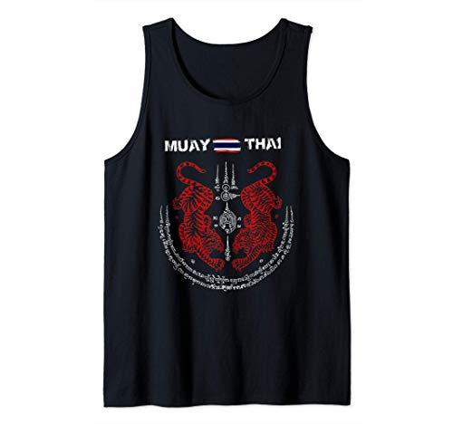 Muay Thai Kickboxing Thailand t shirt Canotta
