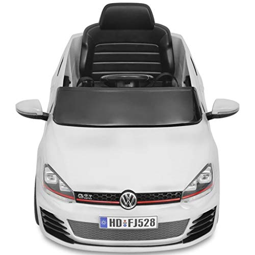 RC Auto kaufen Kinderauto Bild 3: Kinderfahrzeuge Kinderauto Elektroauto VW Golf GTI 7 weiß 12 V Mit Fernbedienung Elektrofahrzeuge*