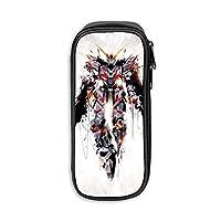Gundam Unicorn ガンダム ペンケース ペンポーチ 収納ポーチ 文具バッグ 文具ケース 大容量Pencil Case Pen Bag 大容量 多機能Pencil 筆箱 可愛い 男女兼用 学生用 ふでばこ 高校生 携帯用 筆入れ プレゼント